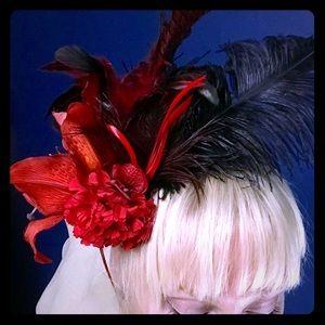 Accessories - Flower & Feather Head Piece